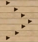 Image of arrows on a bowling ally lane