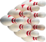 Image of 10 bowling pins